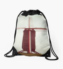A Place to Rest a While Drawstring Bag