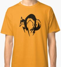 Metal Gear Solid - Fox (Black) Classic T-Shirt