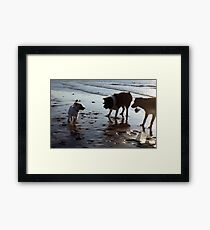 Play with me! Framed Print
