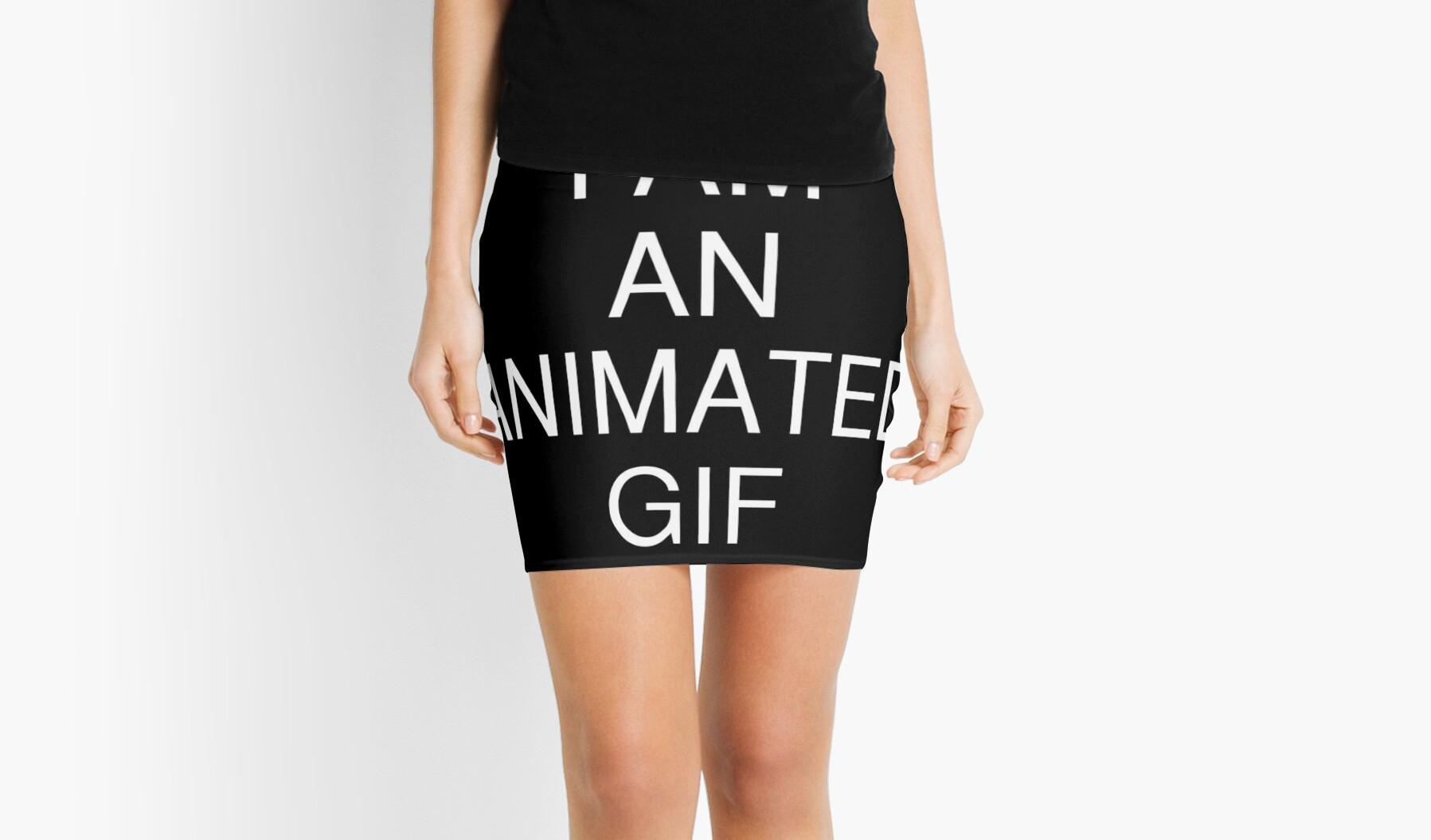 Like Animated mini skirt gif