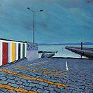 Enniscrone Pier, Grafschaft Sligo, Irland von eolai