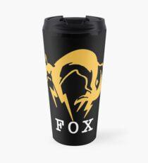 Metal Gear Solid - FOX +text Travel Mug