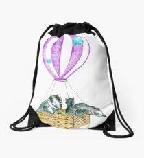 High As A Kite Drawstring Bag