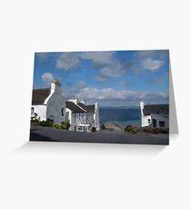 Port Charlotte, Islay Greeting Card