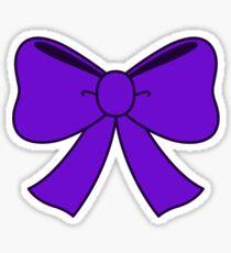 Violet Bow Sticker