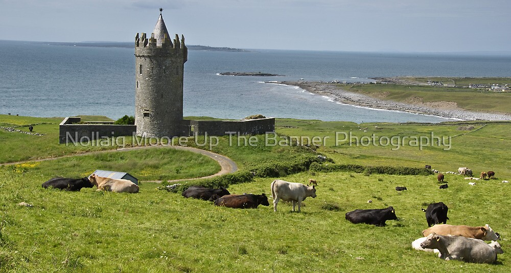 european irish castle in county clare by Noel Moore Up The Banner Photography