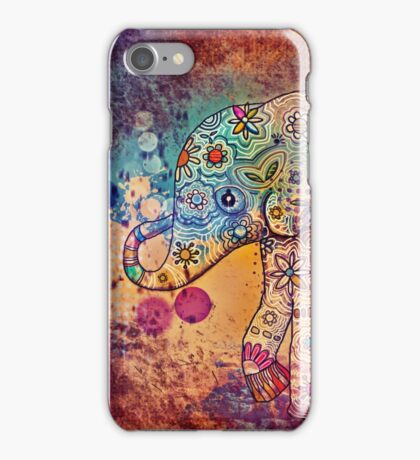 indie elephant iPhone Case/Skin