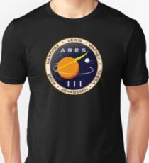 Ares 3 mission to Mars - The Martian Unisex T-Shirt