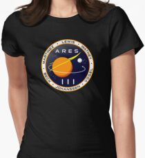 Ares 3 mission to Mars - The Martian Women's Fitted T-Shirt
