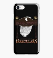 Sherlock Holmes Baker Street Irregulars Design iPhone Case/Skin