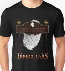 Sherlock Holmes Baker Street Irregulars Design T-Shirt