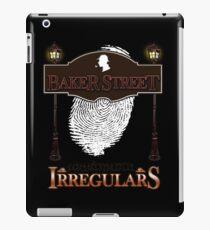 Sherlock Holmes Baker Street Irregulars Design iPad Case/Skin