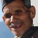 The Old Man at Deoriatal  by JYOTIRMOY Portfolio Photographer