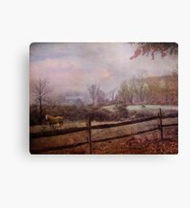 Edging Toward November Canvas Print