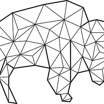 Vektor Bison von eadingtonanne