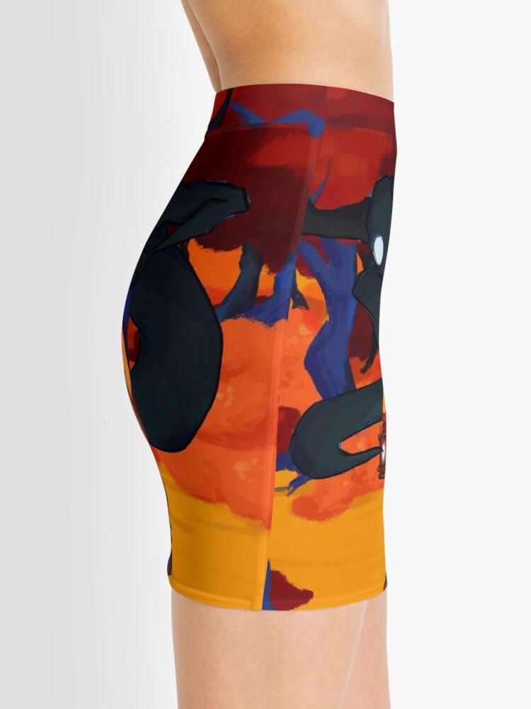 Alternate view of Burgling Your Turts Mini Skirt