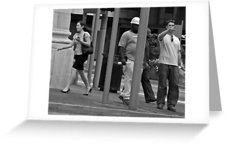 Girl in a Hurry by Phil Campus