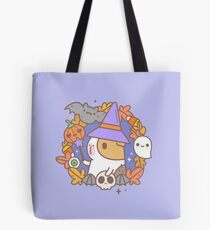Bubu the Guinea pig, Witchy Wreath Tote Bag