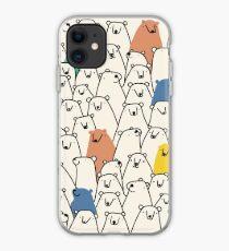 Bears pattern iPhone Case