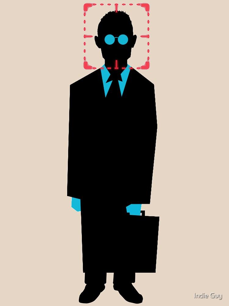 Harold Finch minimalistic von IndieKai