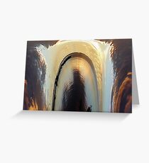 Sinkhole Greeting Card