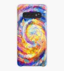 Abstract segmentation of phoenix Case/Skin for Samsung Galaxy