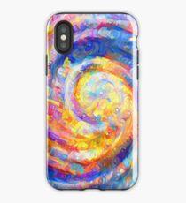 Abstract segmentation of phoenix iPhone Case
