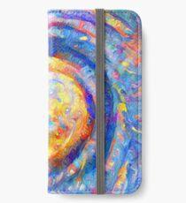 Abstract segmentation of phoenix iPhone Wallet/Case/Skin