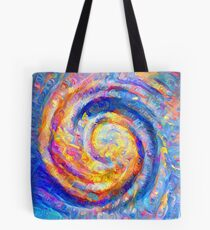 Abstract segmentation of phoenix Tote Bag