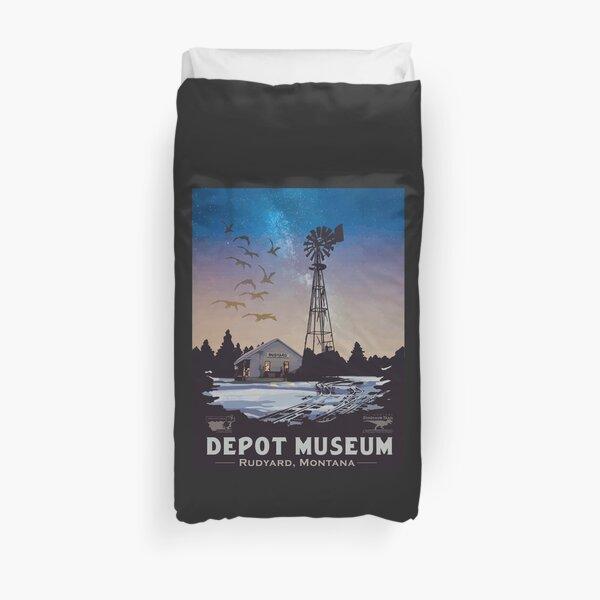 Depot Museum Duvet Cover