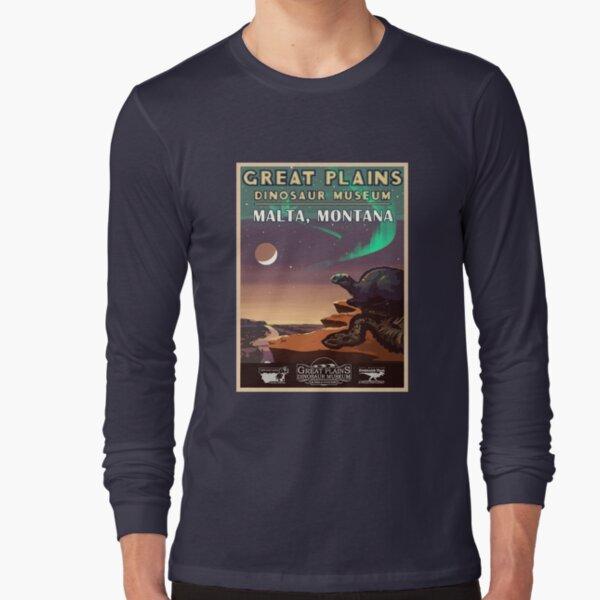Great Plains Dinosaur Museum Long Sleeve T-Shirt