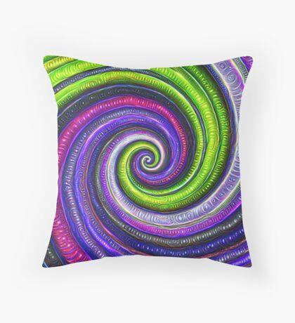 Source #DeepDream #Art Throw Pillow