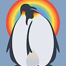 Gay Penguins Adopt An Egg by BendeBear