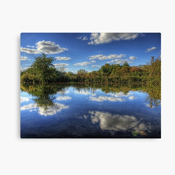 The river Itchen - Winchester Canvas Print