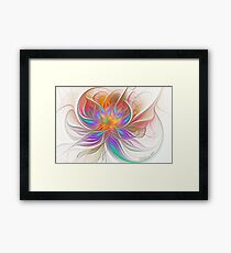 Espiral Dreams Framed Print