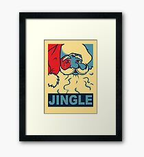 JINGLE Framed Print