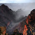Storm on the North Rim by Gregory Collins