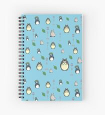 My Neighbor Totoro pattern Spiral Notebook
