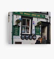 Pub In Skipton Yorkshire, Canvas Print
