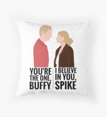 Spuffy Throw Pillow