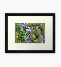 Village in the City Framed Print