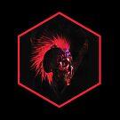 Head Display in Black by RoosterRepublic