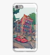 Rua Alfonso XIII iPhone Case/Skin