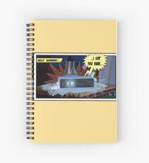 Groundhog Spiral Notebook