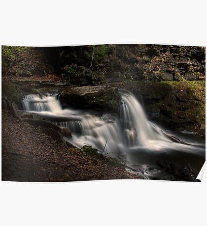 Cayuga Falls (in Autumn) Poster