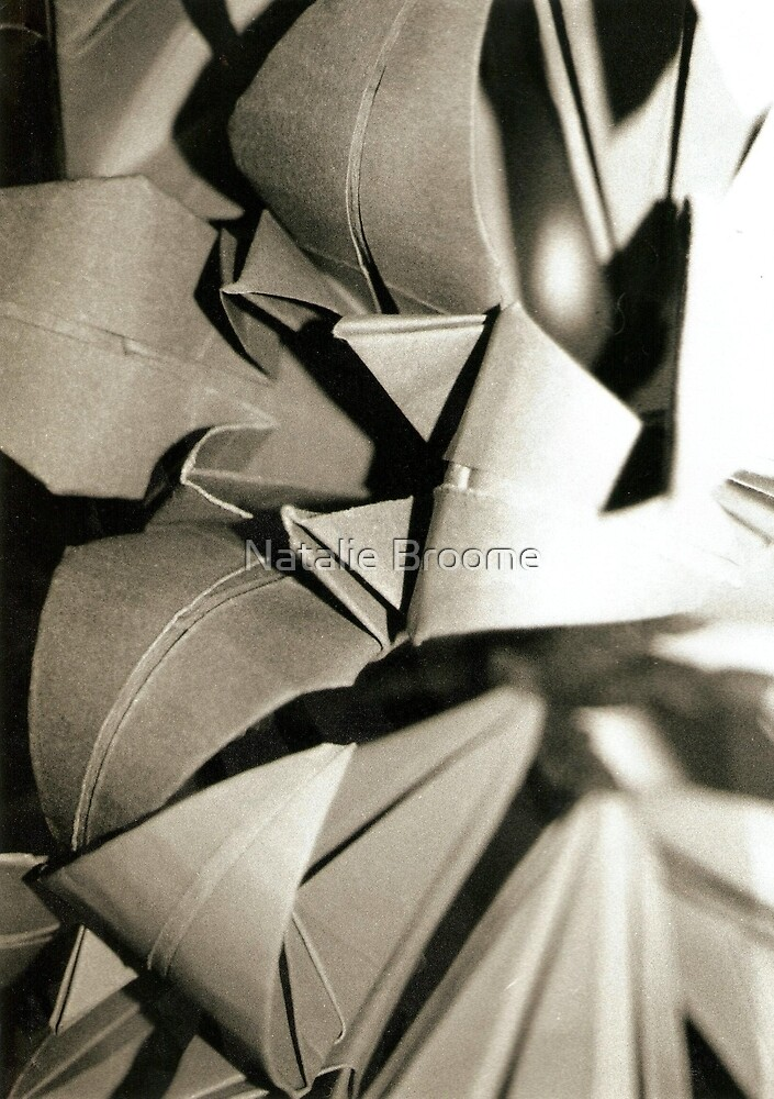 Origami Flower by Natalie Broome