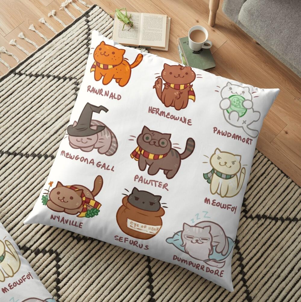 Hairy Pawtter Floor Pillow