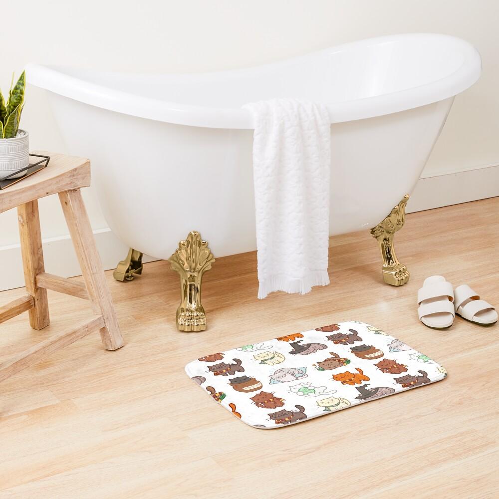 Hairy Pawtter Bath Mat