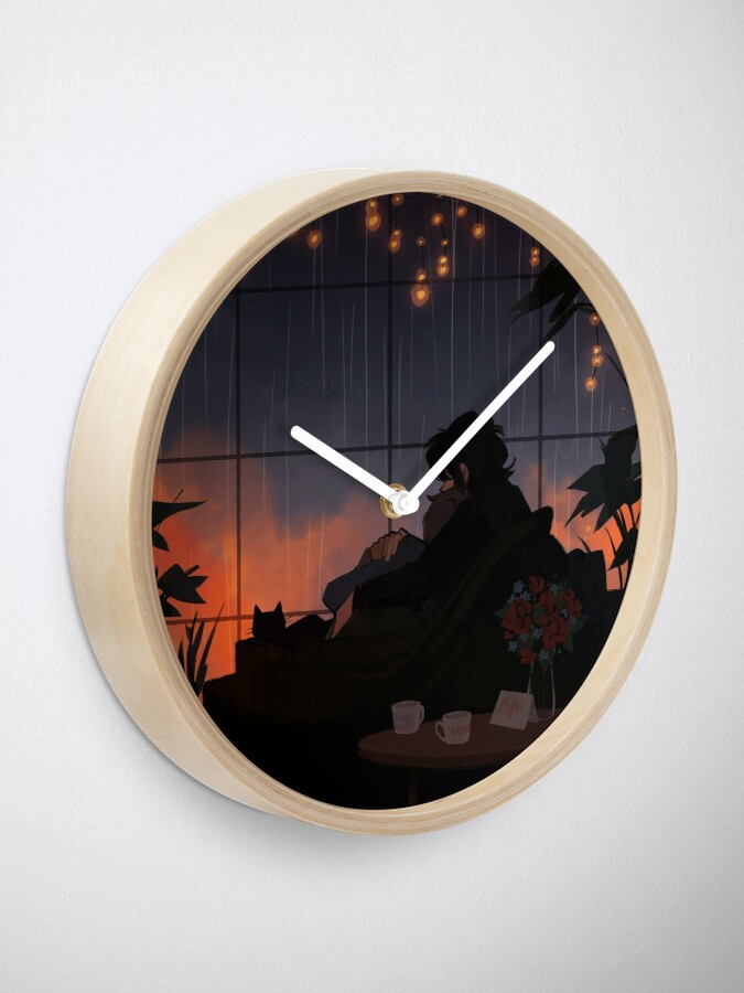 Alternate view of Alone Together Clock