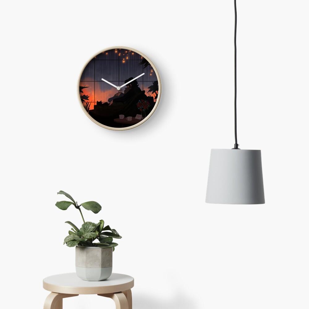 Alone Together Clock